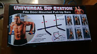 Universal dip station, NEW IN BOX!