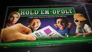 Hold em Monopoly game sealed