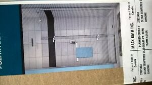 BRAND NEW MAXX SHOWER DORR & GLASS PANEL