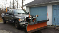 2004 Dodge Power Ram 1500 with Plow