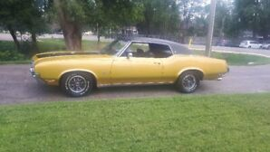1972 CLASSIC OLDS.