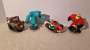 Figurines pour jeux infinity de Disney