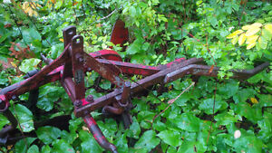 2 Furrow point hitch Plow
