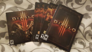 *Diablo 3 PC Game Complete w/ Game Disc, Booklet *LIKE NEW **