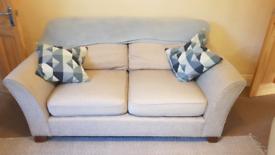 Cream 3 seater sofa / settee. Originally from M&S