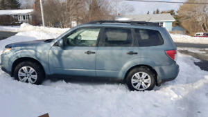 2009 Subaru Forester 2.5l  Low Milage, New Price