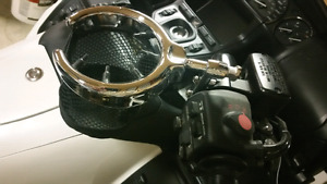 Motorcycle cup holder
