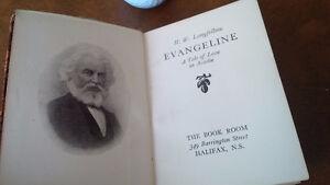 Evangeline, H.W. Longfellow, Souvenir of Evangeline Country Kitchener / Waterloo Kitchener Area image 2