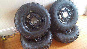 Maxxis front and back set of ATV tires 26x8-14 & 26x10-14