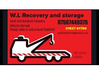 Wl recovery and storage container storage caravan storage vehicle storage