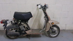 1985 honda nq50 scooter for parts