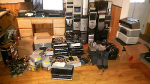 Towers, laptops, printers and more
