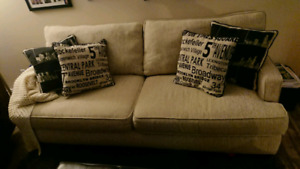 Beige Full size couch