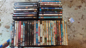 Large lot of DVDs