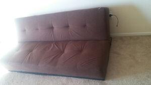Brown Futon for Sale