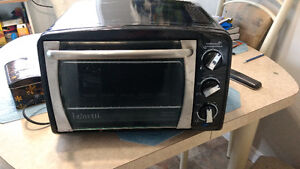 Rotisserie/convection toaster oven