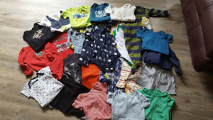Lot 1- 24 items. Perfect condition size 12 mo brand name clothes