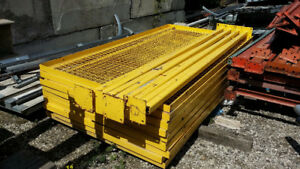 Used Industrial Warehouse Yellow Cage