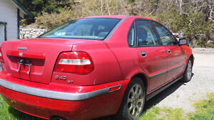2001 Volvo S40 Sedan turbo
