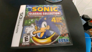 SONIC COLLECTION DS 2DS 3DS