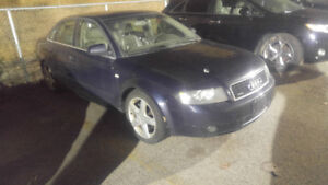 2005 Audi A4 3.0L Quattro Only $1900!! Great for winter!!