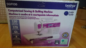 BROTHER INTERNATIONAL CORP. BROTHER SQ9130 COMPUTERIZED SEWING M