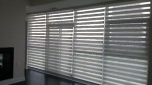 ZEBRA , SILHOUETTES,ROLLER SHADES, FAUX WOOD,VERTICAL BLINDS