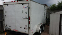 7 x 14 pace outback trailer 2009