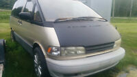 1997 Toyota Previa AWD & Supercharged