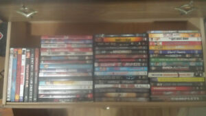 Lot of 57 DVDS