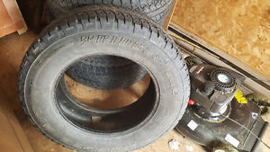 Truck tires and car tires