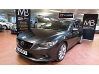 2013 MAZDA 6 2.2d SPORT Nav Rev Cam Full Leather Bluetooth Audio BOSE