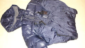 BLACK BABY GAP SNOW SUIT SET FOR 18-24MTHSOLD