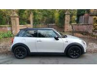 65 MINI HATCH 1.5 COOPER 3DR 45,226 MILES FINISHED IN WHITE SILVER 16'' ALLOYS