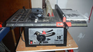 """Durex 10"""" Table Saw and stand"""