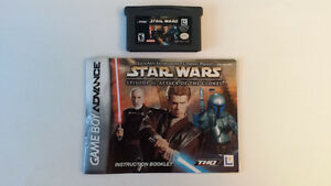 Star Wars: Episode II pour Game Boy Advance (GBA) Manuel inclus