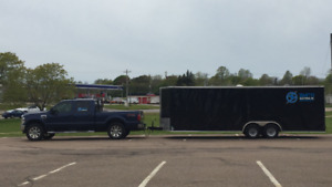 2008 Ford F-350 Pickup Truck - 2016 24' Car Hauler Trailer