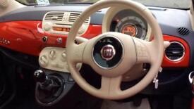 2011 Fiat 500 1.2 Lounge (Start Stop) with B Manual Petrol Hatchback