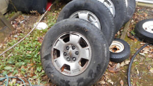 2005   AVALANCHE  WHEEL   WITH   GOODYEAR   TIRE