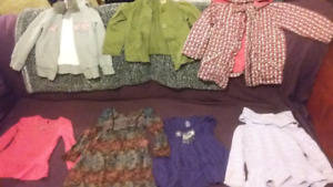 Girls winter clothes size 4-5
