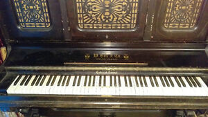 Antique Piano  W. Bell & Co.