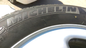 Tires Michelin w/mags winter 225/65R17