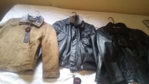 Leather and suede jacket Windsor Region Ontario image 1