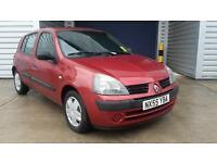 Renault Clio 1.2 16v Expression 5 Door Petrol Manual In Metallic Red