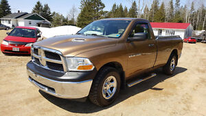 2012 Ram 1500 ST 4X4 - 8 FOOT BOX