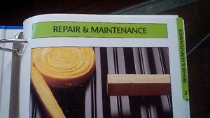 REDUCED Easy Home Repair - 5 Binders - Step-by-Step DIY Kitchener / Waterloo Kitchener Area image 4