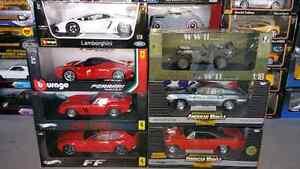 1:18 Diecast Burago La Ferrari & Lamborghini Aventador