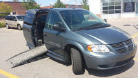 2007 Dodge Grand Caravan Wheelchair Accessible Minivan, Van