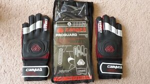 Soccer Goal Keepers Gloves (Adidas size 9) West Island Greater Montréal image 1