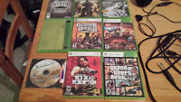 Xbox 360 Console, accessories, and games for sale